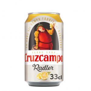 Cerveza radler cruzcampo lata 33cl