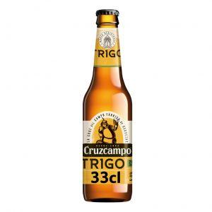Cerveza trigo cruzcampo bot 33cl