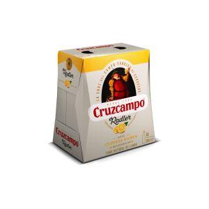 Cerveza radler cruzcampo botella p6x25cl