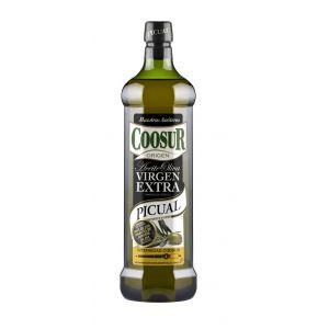 aceite de oliva virgen extra monovarietal picual coosur 1l