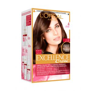 Coloración excellence castaño 4 l'oréal paris