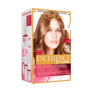 Coloración excellence rubio natural 7 l'oréal paris