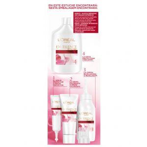 Coloración excellence rubio claro ceniza 9.1 l'oréal paris