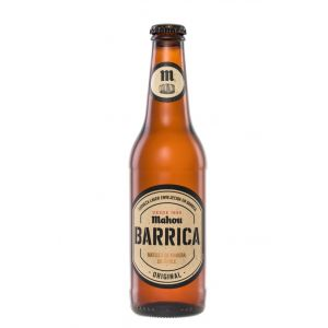 Cerveza barrica original  mahou  33cl