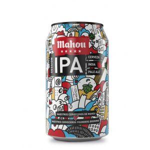 Cerveza 5 estrella ipa mahou lata 33cl