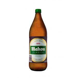 Cerveza clasica mahou 1l