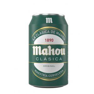 Cerveza mahou lata 33cl