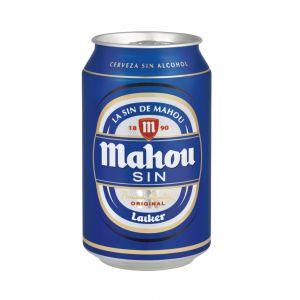 Cerveza sin alcohol mahou lata 33cl