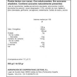 Crema bombon s/az clesa p-4 x125gr