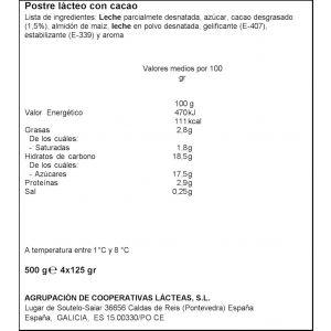 Crema bombon clesa p4x125g