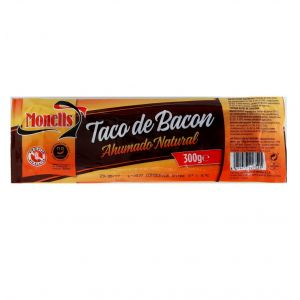 Taco bacon ahumado monells 300gr
