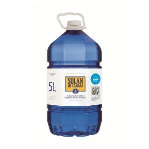 Agua mineral  solan de cabras pet 5l