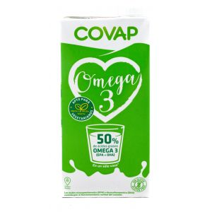 Leche omega3 covap brick 1l
