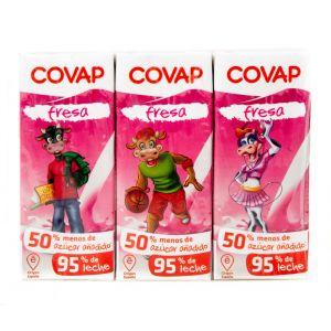 Batido fresa covap p6x200ml