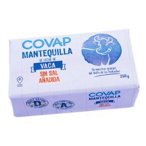 Mantequilla s/sal covap 250gr