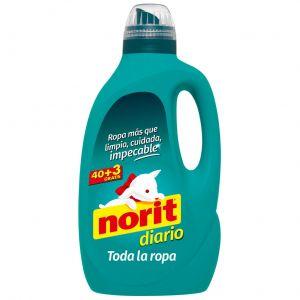 Detergente líquido diario norit 40 dosis 2,12 litros