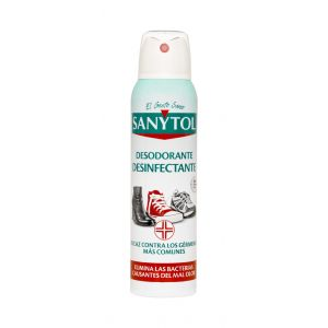 Desodorante calzado desinfectante sanytol spray 150ml