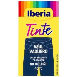 Tinte textil azul vaquero iberia