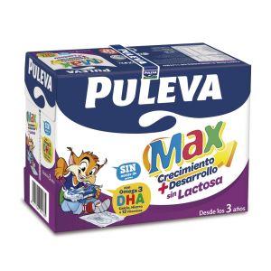 Leche sin lactosa puleva max brick 1l