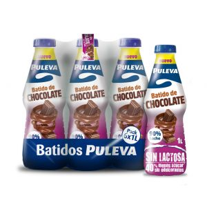Batido sin lactosa cacao puleva botella 1l