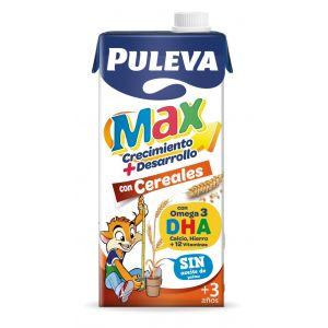 Leche cereales puleva max brick 1l