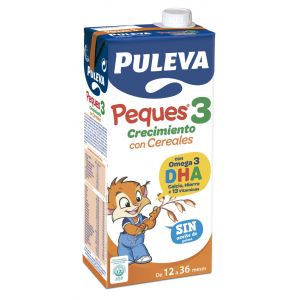 Leche crec peques3 cereal puleva  1l