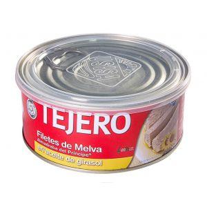 Melva filete aceite de girasol tejero ro1000 618g ne