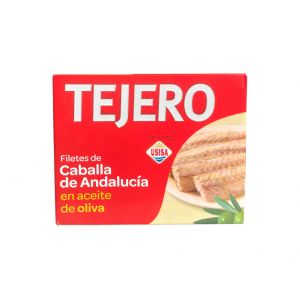 Caballa filete aceite de oliva tejero rr230 160g ne