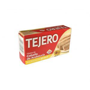Caballa filete aceite de girasol tejero rr125 85g ne
