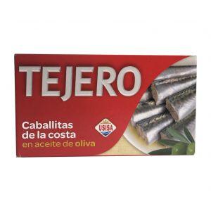 Caballitas entera aceite de oliva tejero rr125 85g ne