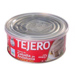 Caballa filete aceite de oliva tejero ro1000 650g ne