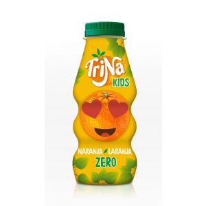 Refresco zero naranja trina pet 27,5cl