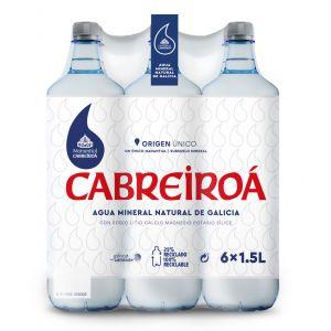 Agua mineral  cabreiroa pet 1,5l