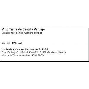 Vino castilla leon verdejo blanco faustino rivero 75cl