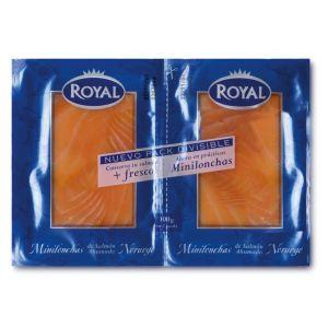 salmón ahumado royal pack de 2 unidades de 50g