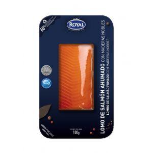Lomo de salmon ahumado royal 100 gr