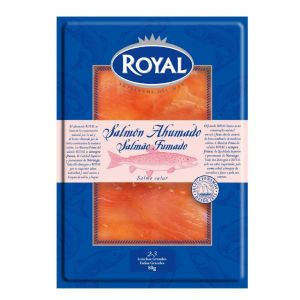 Salmón ahumado royal lonchas 80g