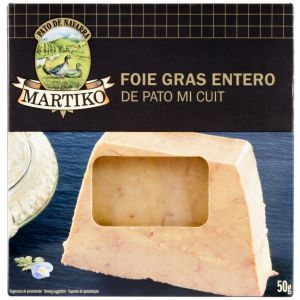 Foie gras pato micuit martiko 50g