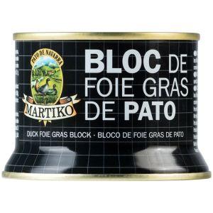Bloc de foie gras  de pato martiko 130g