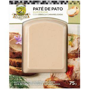 Pate pato cebolla caramelizada martiko 75gr