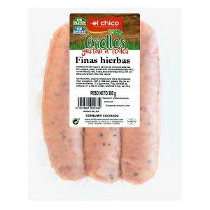 Chorizo criollo finas hierbas el chico 300 gr