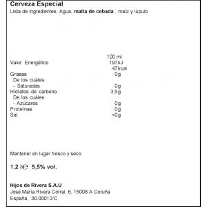 Cerveza estrella galicia p6x20cl