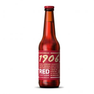 Cerveza 1906 red vintage botella p6x33cl
