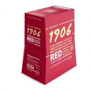 Cerveza 1906 red vintage botella p6x33cl