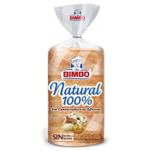 Pan molde natural  bimbo   460g