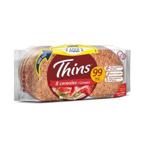 Pan  sandwich silueta thins  310g