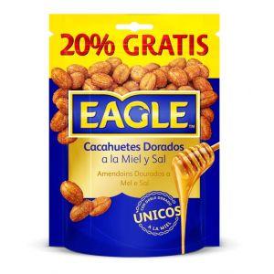 Cacahuetes tostados con miel eagle bolsa 75 gr