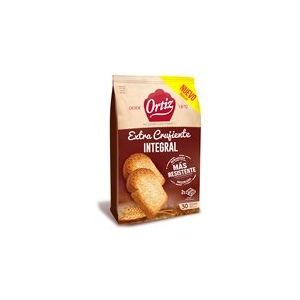 Pan tostado integral 100% ortiz 324g
