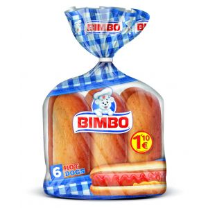 Pan bocata hot dog bimbo  p6x55g