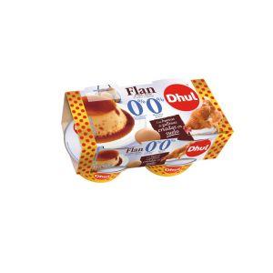 Flan huevo 0%azucar  0%materia grasa  dhul p-4 400gr